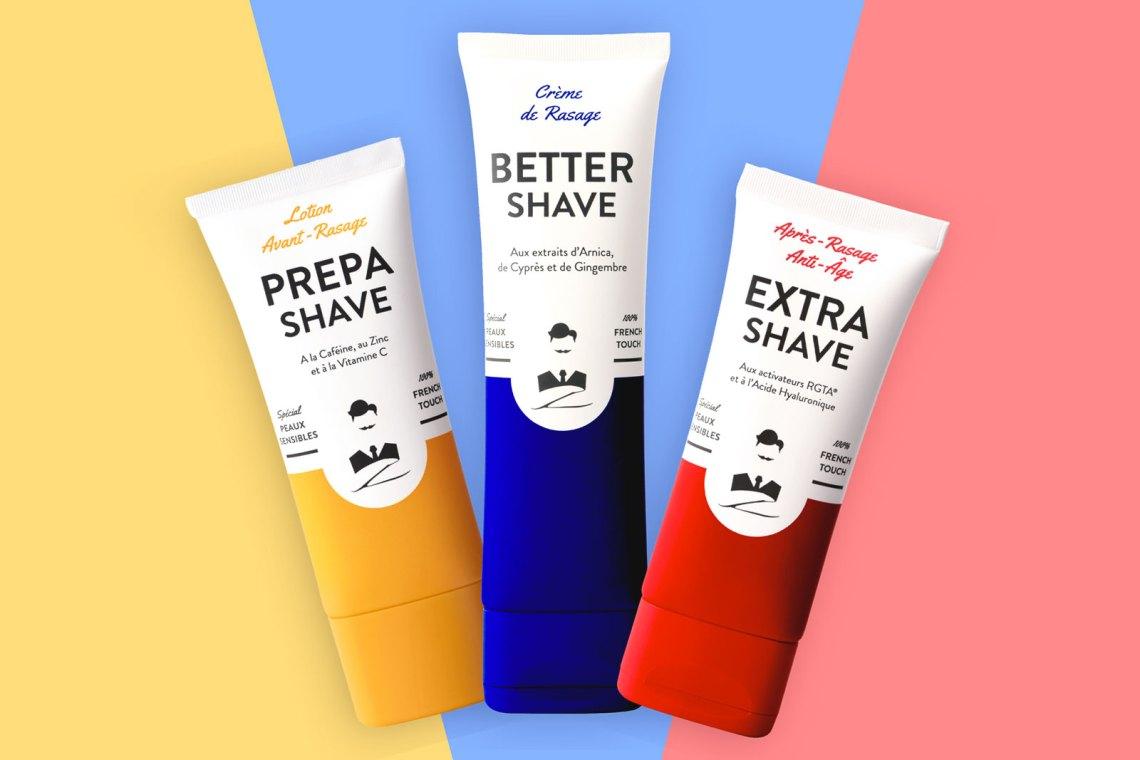 Crème rasage barbe