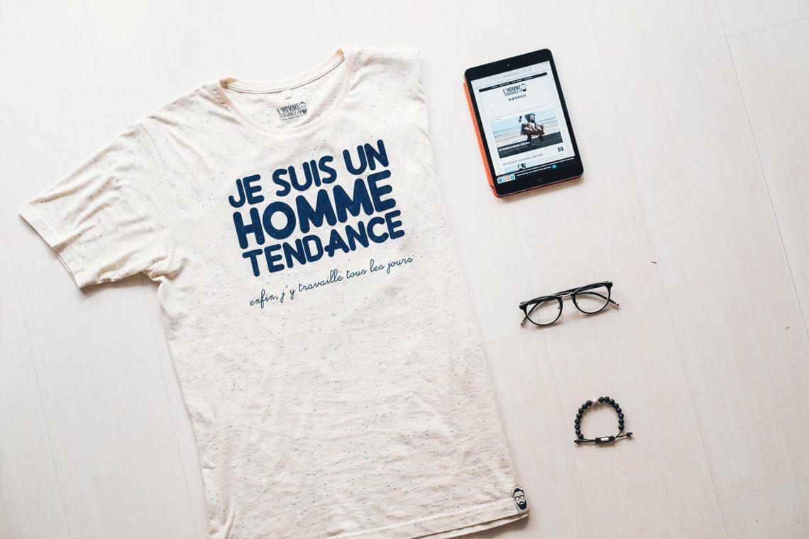 T-shirt Homme Tendance