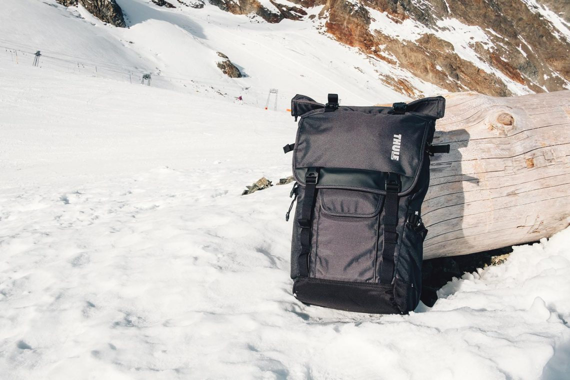 Sac de voyage Thule Covert DSLR RollTop BackPack Test