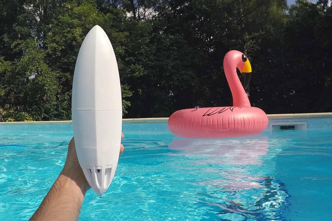 FlipR piscine connectée