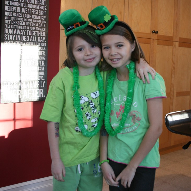 Ready for St. Paddy's day!