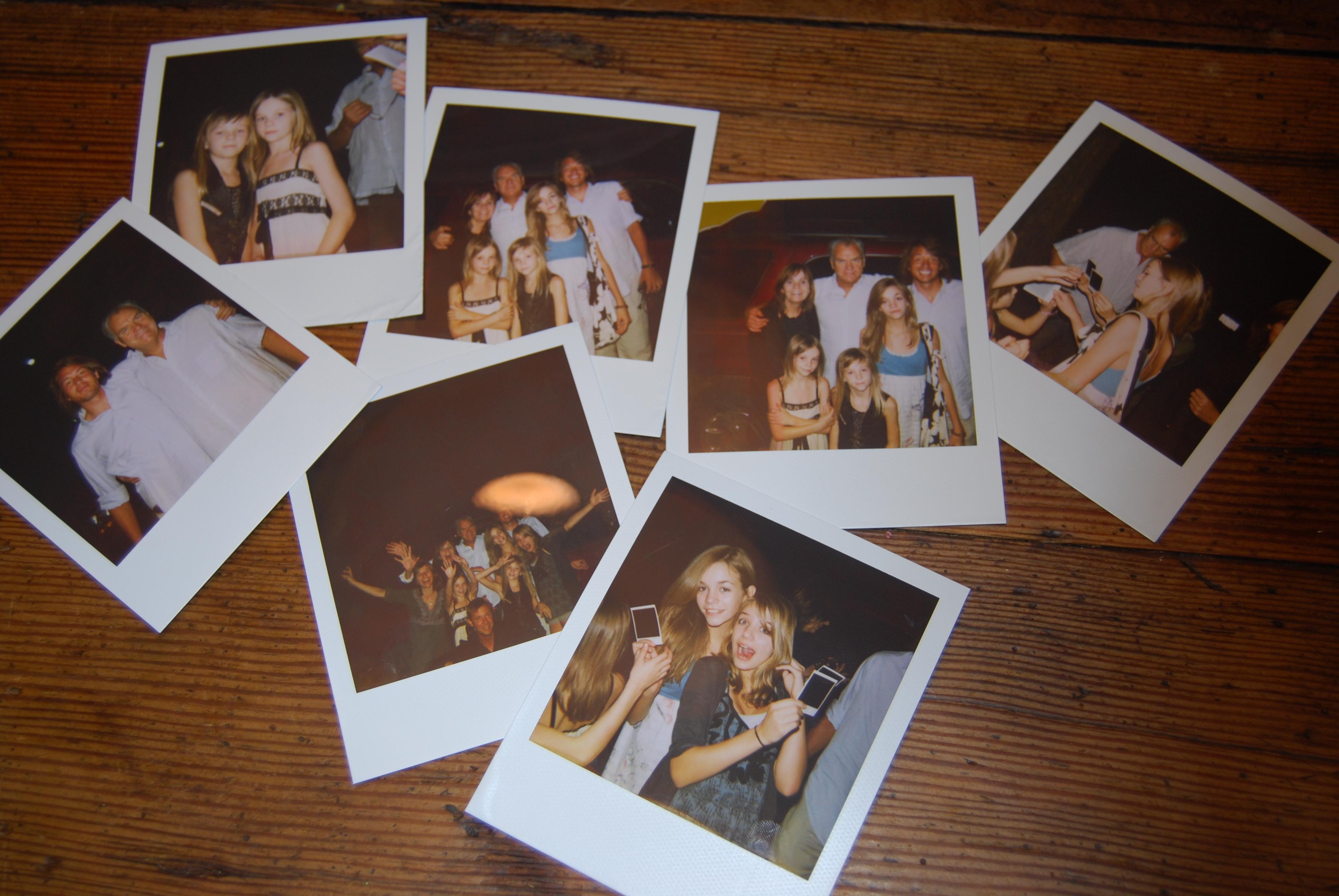 party polaroid pix by mikey