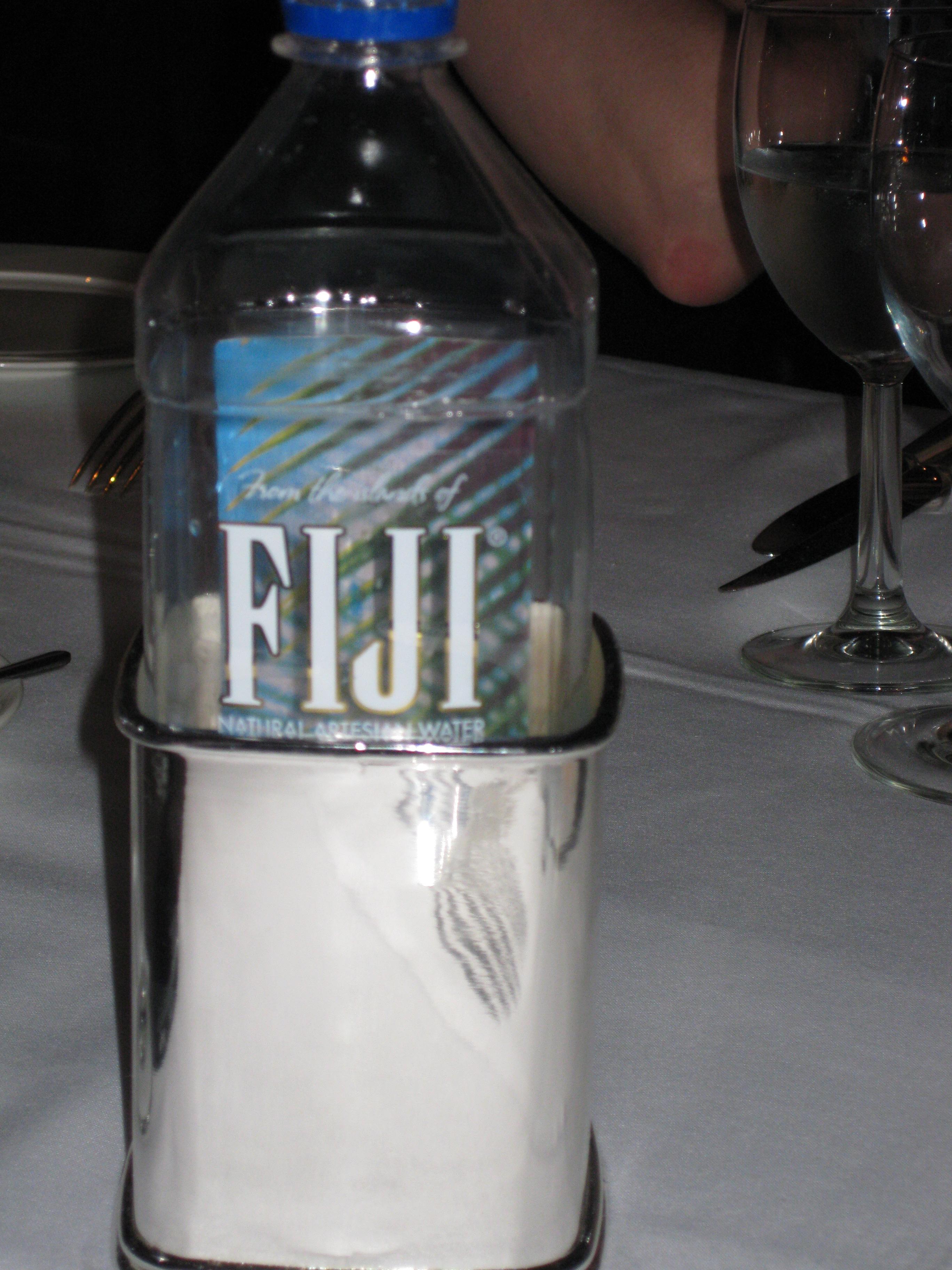 sterling silver fuji water holder
