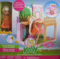 2006 KELLY Pop Up Playhouse Playset  Tree House & Back