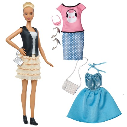 44 Leather & Ruffles Doll & Fashions - Tall