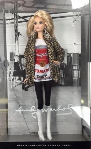 Andy Warhol Barbie doll NRFB