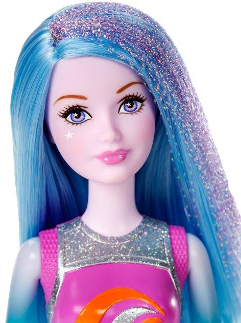 Barbie Star Light Adventure Blue and Purple Hai