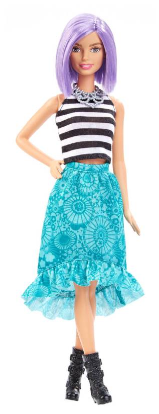 Barbie® Fashionistas™ Doll 18 Va-Va-Violet - Original flyer