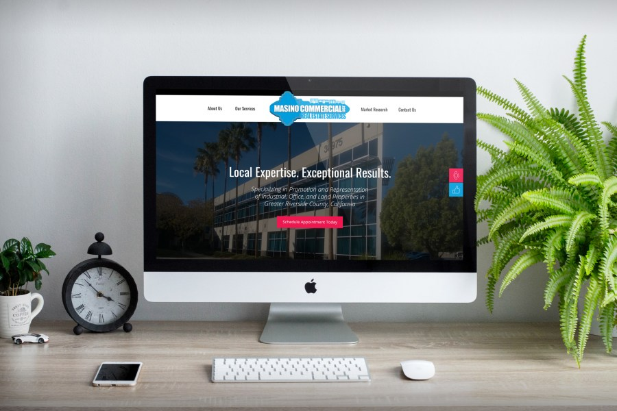 Website Design for Masino Commercial Real Estate Services