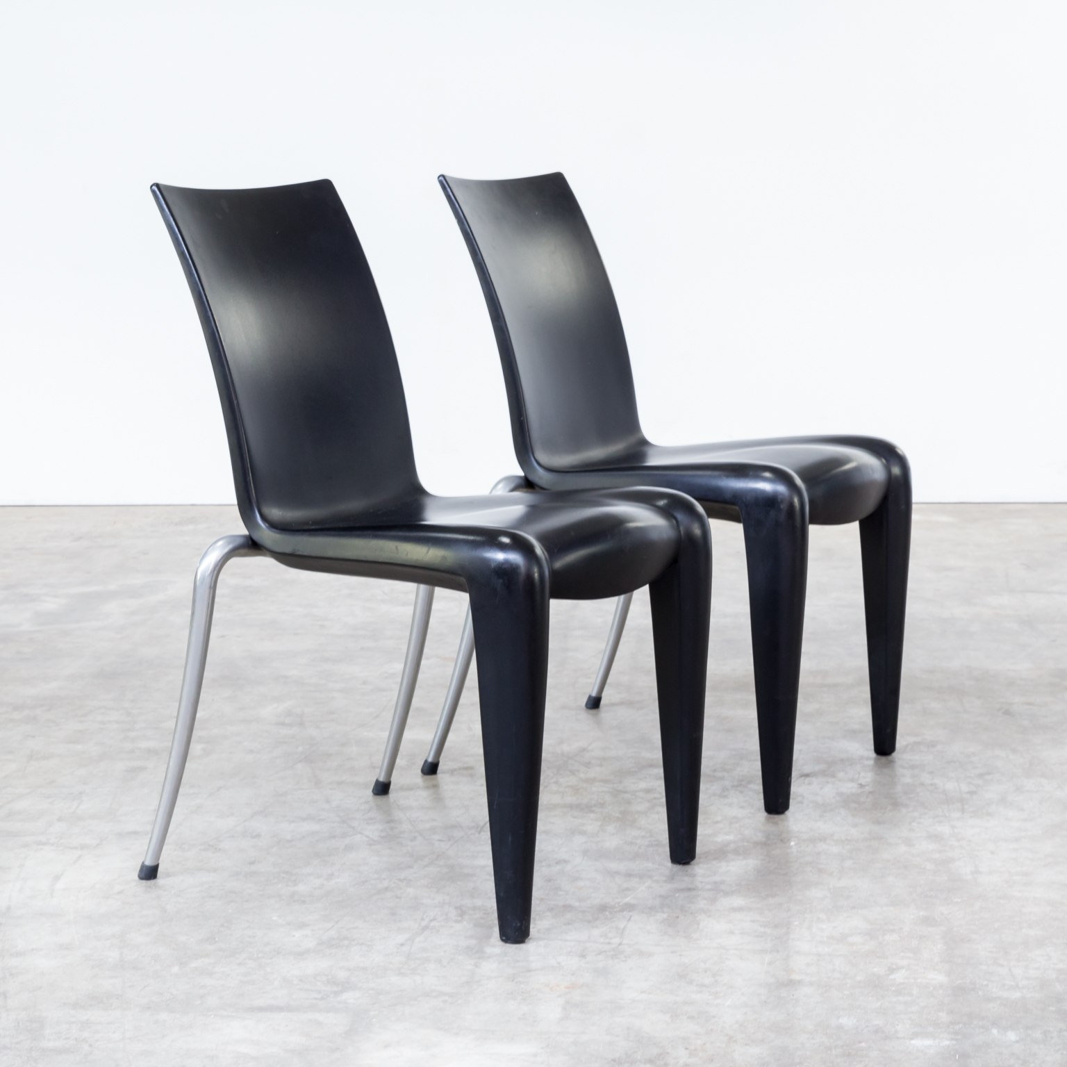 90s Philippe Starck louis 20 chairs for Vitra set4