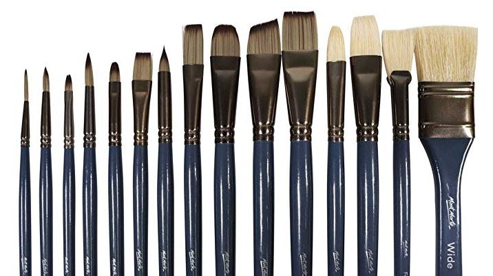monte marte paint brushes