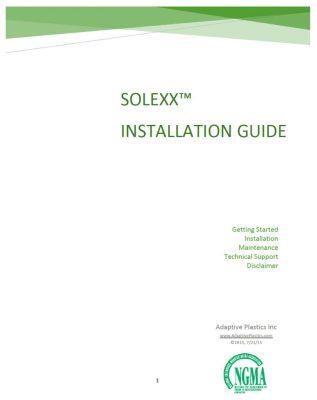 Solexx Installation Guide