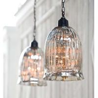 mercury glass pendants   Design Loft :: The Design Blog of ...