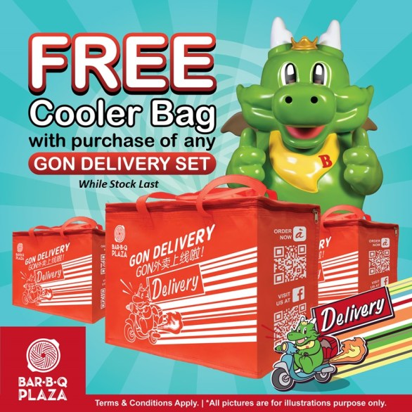 GonDelivery - Free Cooler Bag (while stock last)