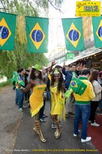 Bar Brasil Estocolmo - VM 2014. Lady & Maristella.