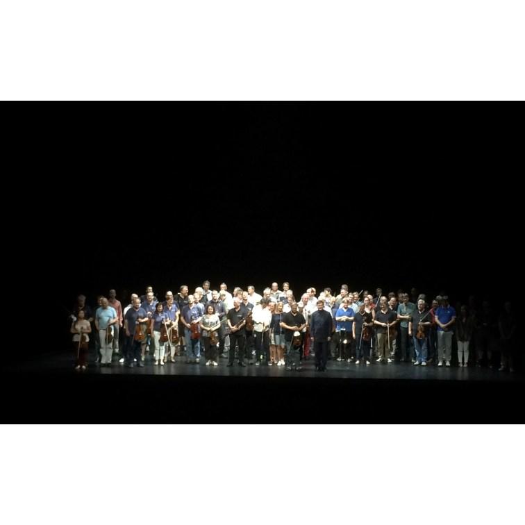 """Schlussapplaus für Orchester """"Tristan und Isolde"""""""