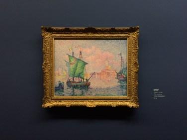 PAUL SIGNAC, VENEDIG, DIE ROSA WOLKE, 1909 Öl auf Leinwand