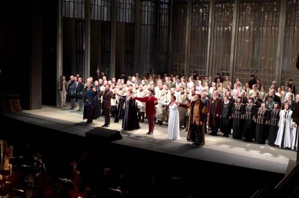 Applaus Lohengrin 1. Aufzug (Semperoper)