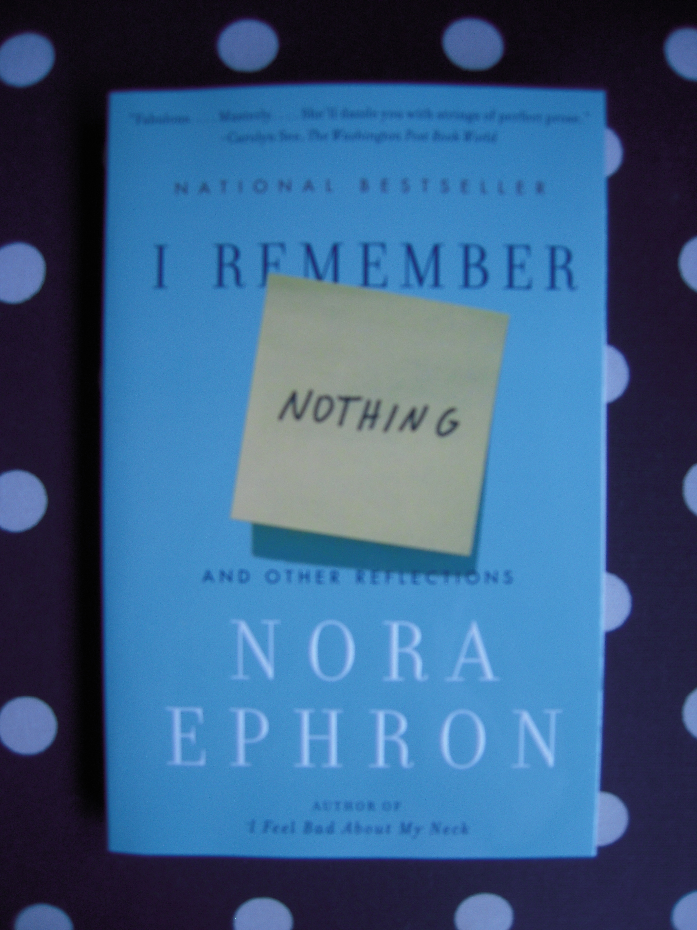 nora ephron essays on aging Nora ephron: the funniest feminist nora ephron passed jan morris in her essays who saw it as demeaning to negatively portray the process of aging.