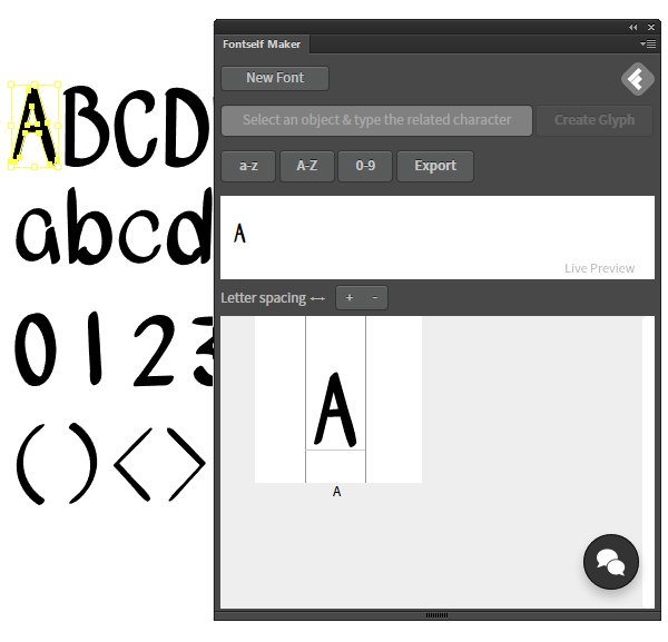 Font Maker - Fonturi