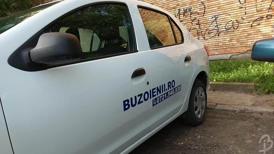 Grafică Autocolantare Mașină Buzoienii Buzău Barbuiulian.com