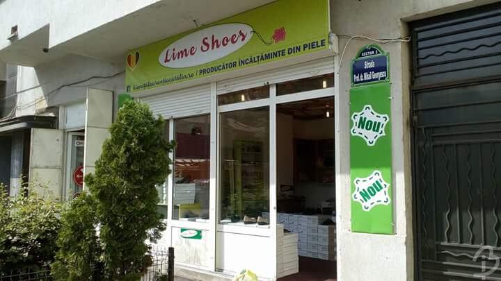Grafică Bannere Magazin Lime Shoes Barbuiulian.com