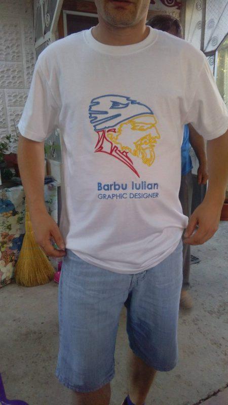 Grafică Tricou Personalizat Electroprima Fata Barbuiulian.com