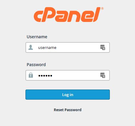 WordPress - cpanel