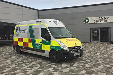 BARC Midlands Rescue IoM 2017