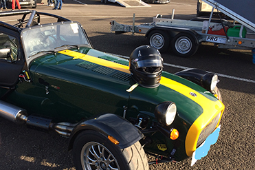 Anthony and Zoe Shearman Caterham 310R