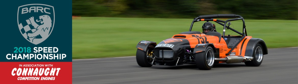 Orange Caterham at Curborough 2017