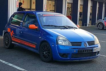 Taras Andrusin Renault Clio