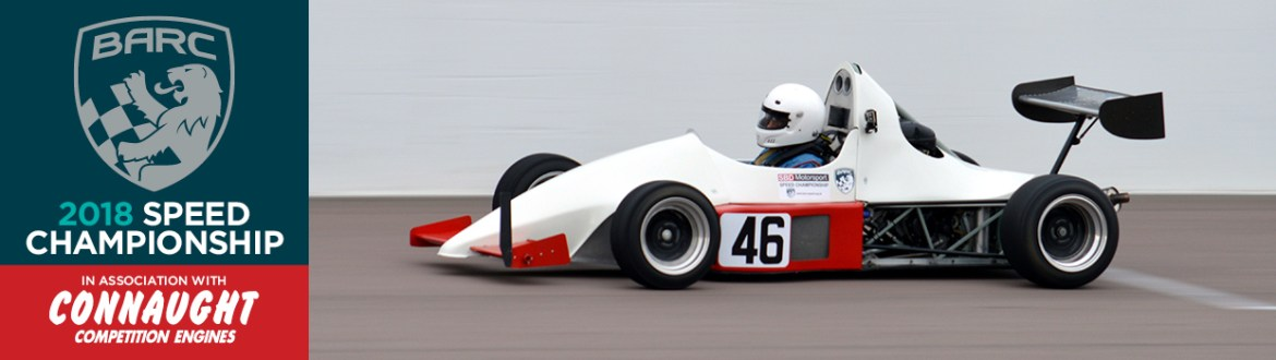 White Single Seater Rockingham 2017