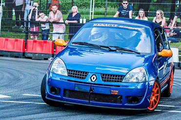 Taras Andrusin - Renault Clio 172 Cup