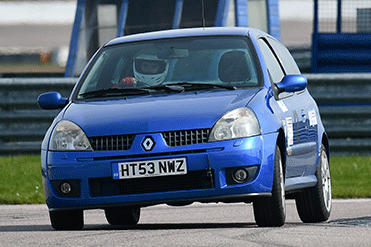 Steven Riddle - Renault Clio 172 Cup