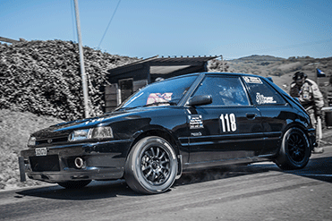 Chris Edwards - Mazda 323 GTX