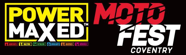 Power Maxed MotoFest Coventry Logo