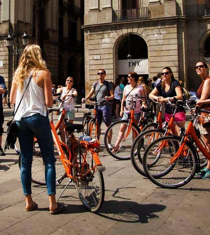 wycieczka rowerowa gaudi barcelona