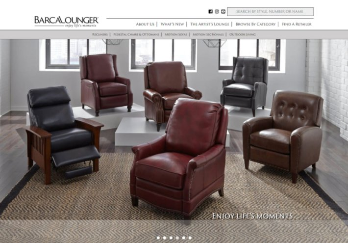 at home chairs folding sleeper chair make yourself on the new barcalounger furniture website