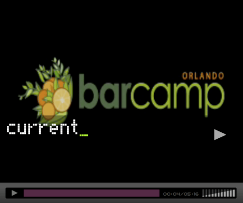 barcamp orlando screen shot