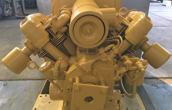 Farymann dieselmotor R10, luchtgekoeld