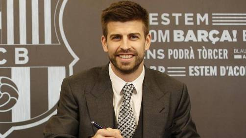 Pique signed contract