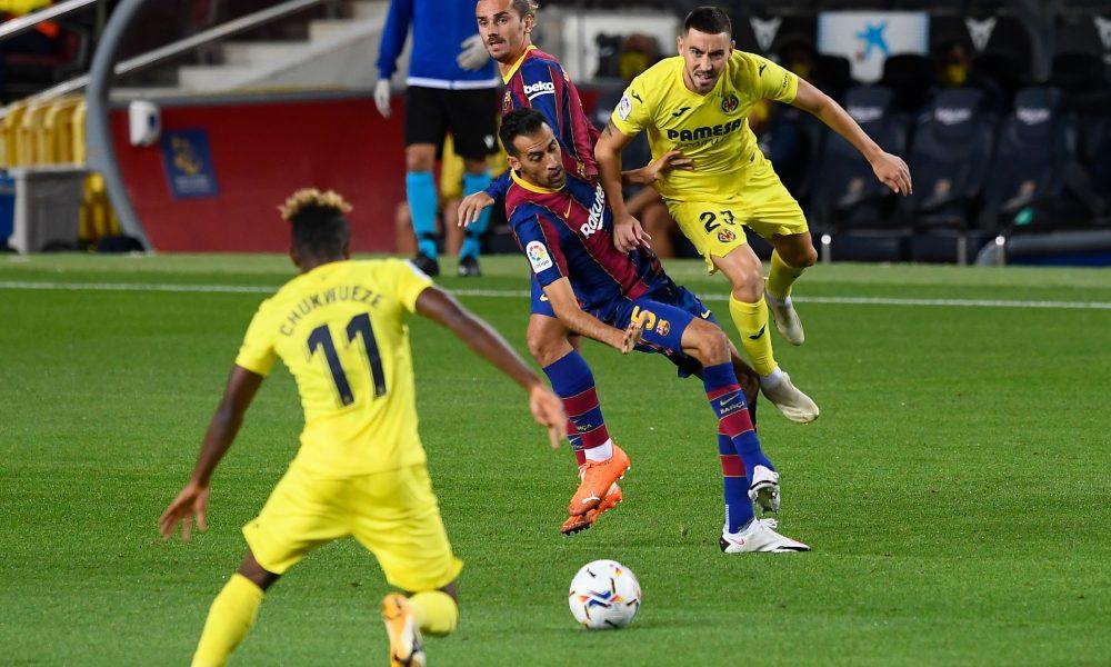 Sergio Busquets talks ahead of Barça 4-0 Villareal   Barca Universal