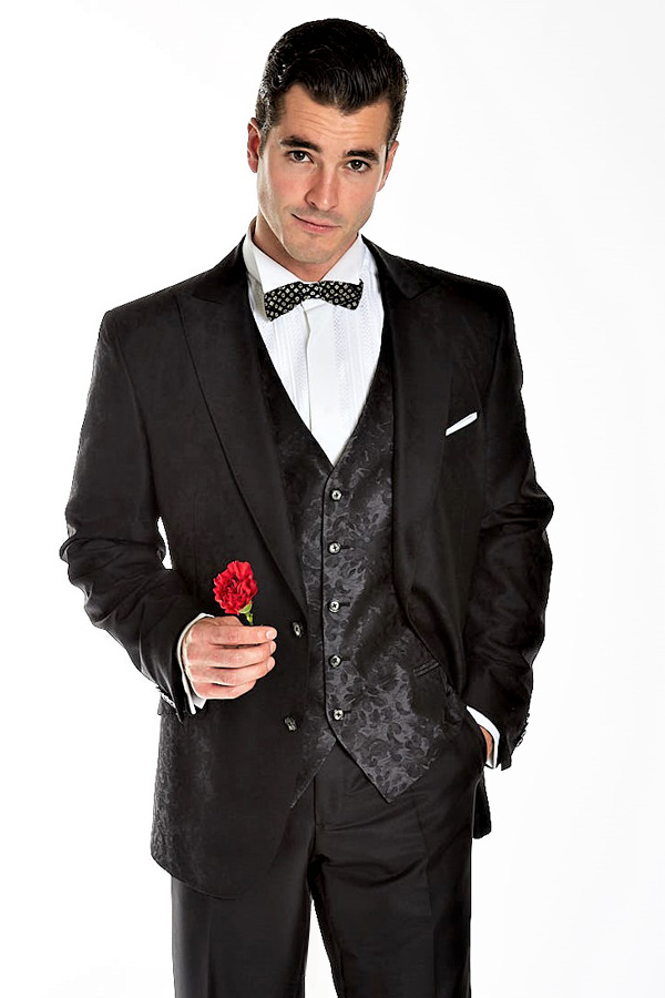 TUXEDO with fancy Silk VEST