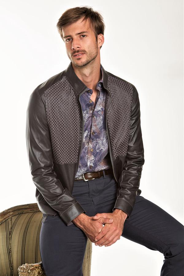 Reversible Suede/Leather Blouson