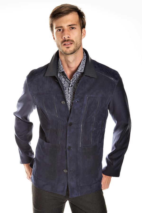 Torras Suede/Silk Jacket
