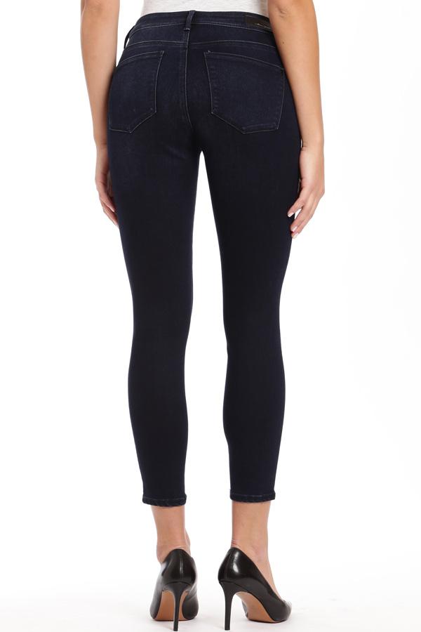 Denim, Dark Wash Ankle length Jean