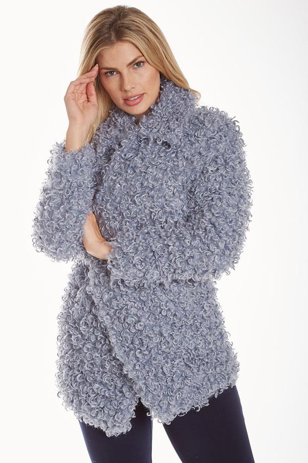 Lightweight Blue Poodle Coat
