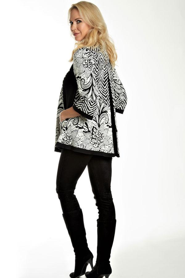 Floral Knit Jacket
