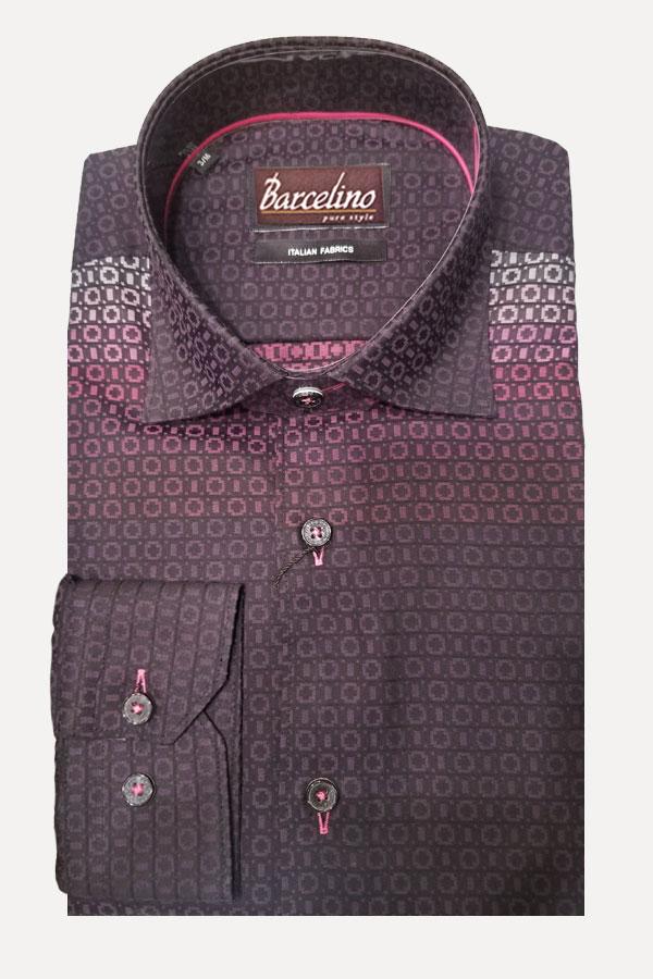 Hidden Button Down Shirt in a Modern Fit Shirt.